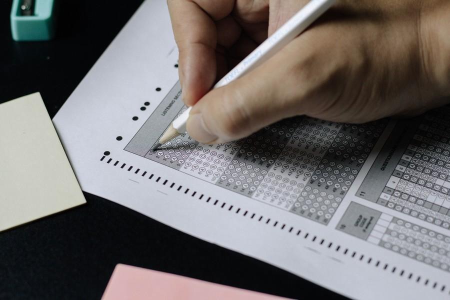 grille d'évaluation à remplir lors d'un examen